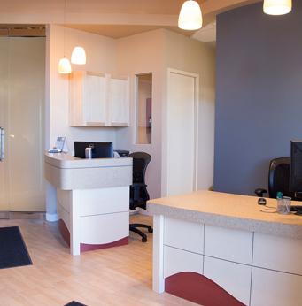 Cornerstone Dental Reception Desk