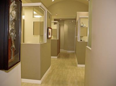 Cornerstone Dental Hallway