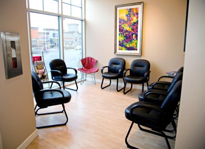 Cornerstone Dental Waiting Area