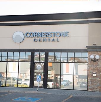 Cornerstone Dental Exterior | Okotoks Family Dentist