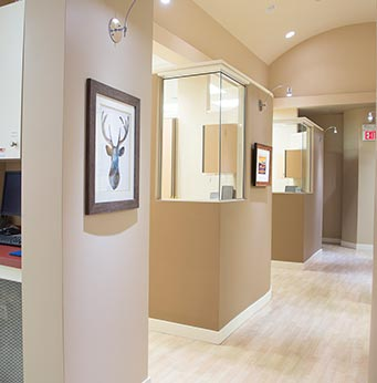 Cornerstone Dental Hallway | Okotoks Family Dentist
