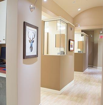 Cornerstone Dental Hallway | Okotoks Family Dentist